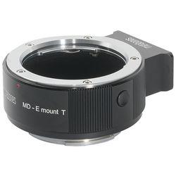 Metabones Minolta MD Lens to Sony E-Mount Camera T Adapter (Black)