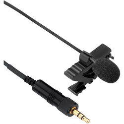 Senal CL6 Miniature 4mm Omni Lavalier Mic with 3.5mm Connector for Sennheiser ew Transmitters