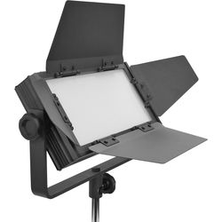 Flolight MicroBeam 512 Daylight LED Light with Gold Mount Battery Plate