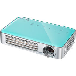 Vivitek Qumi Q6 800-Lumen WXGA DLP Pico Projector with Wi-Fi (Light Blue)