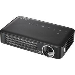 Vivitek Qumi Q6 800-Lumen WXGA DLP Pico Projector with Wi-Fi (Charcoal Gray)