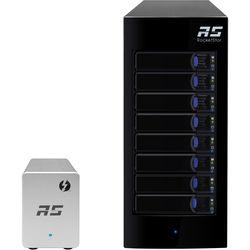 HighPoint RocketStor 6328LS 8-Bay JBOD Solution with Thunderbolt 2 Adapter