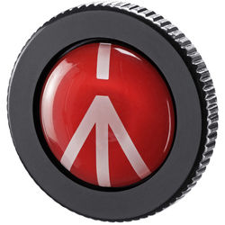 Manfrotto Round Quick-Release Plate for Compact Action Tripods
