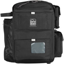 Porta Brace BC-1NR Backpack Camera Case (Black with Red Trim)