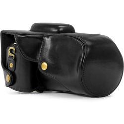 MegaGear MG345 Ever Ready Protective Camera Case for Select Canon Cameras (Black)