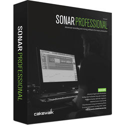 Cakewalk SONAR Professional - Audio Software (Download)