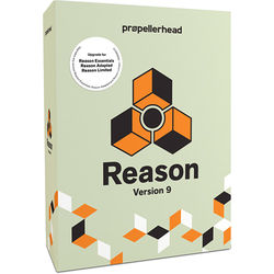 Propellerhead Software Reason 9 - Music Production Software (Upgrade from Limited/Adapted/Essentials)