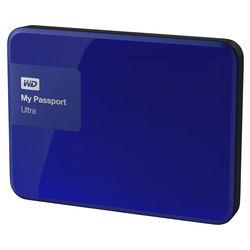 WD 4TB My Passport Ultra USB 3.0 Secure Portable Hard Drive (Blue)