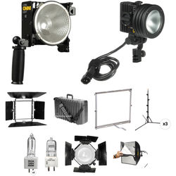 Lowel Omni-light, Pro-light, Rifa eX Three-Light Kit