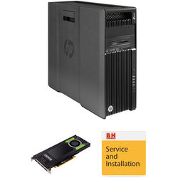 HP Z640 Series Turnkey Workstation with Quadro M4000 Graphics Card