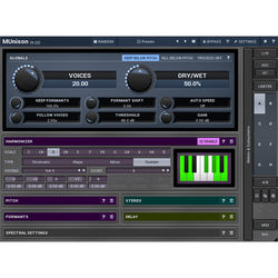 MeldaProduction MUnison - Doubler, Unison, Smart Harmonizer Plug-in (Download)