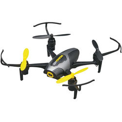 DROMIDA KODO HD Quadcopter with Integrated 1080p Camera (Black/Yellow)