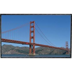 """Draper 250120FR Cineperm 58 x 104"""" Fixed Frame Projection Screen"""
