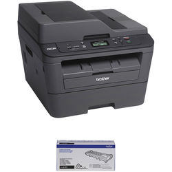 Brother DCP-L2540DW All-in-One Monochrome Laser Printer with Standard Yield Cartridge Kit