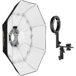 "Impact Folding Beauty Dish with Speedlight Adapter (34"")"