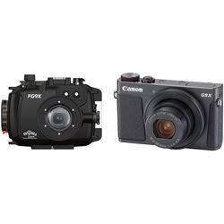 Fantasea Line FG9X Underwater Housing and Canon PowerShot G9 X Digital Camera Kit (Black)