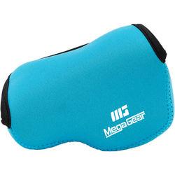 MegaGear Ultra-Light Neoprene Camera Case for LUMIX DMC-GX85K with 12-32mm (Blue)