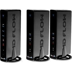 Peerless-AV PeerAir Pro Wireless AV Multi-Display System with Transmitter & Two Receivers (Black)