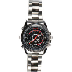 Avangard Optics Watch with 960H Covert Camera (Silver)