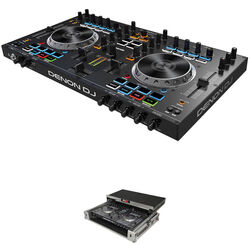 Denon DJ MC4000 Controller Kit with Hard Carry Case