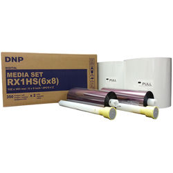 "DNP 6 x 8"" Media Set for DS-RX1HS & RX1 Printers (2 Rolls)"