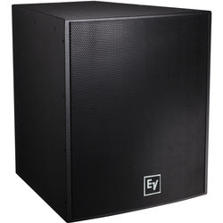 """Electro-Voice EVF2151D Dual 15"""" Front-Loaded Bass Element System (Black, with Fiberglass)"""