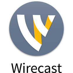 Telestream Wirecast Pro 7 Live Streaming Software for Mac (Upgrade from Wirecast Studio 7)