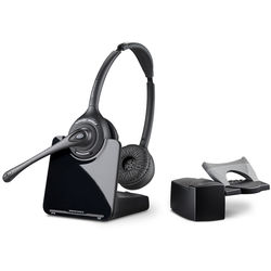 Plantronics CS520 Wireless DECT Headset System with HL10 Handset Lifter