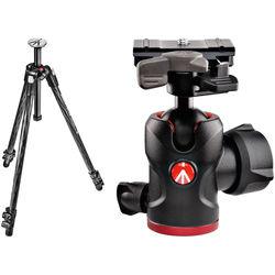 Manfrotto MT290XTC3US 290 Xtra Carbon Fiber Tripod with 494 Mini Ball Head Kit