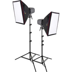 Impact Two Monolight Softbox Kit (120 VAC)