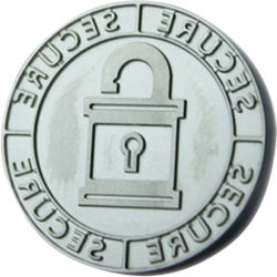 """DATACARD 0.9"""" Replacement Tacticle Impression Die (Security Design)"""