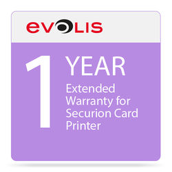 Evolis 1-Year Extended Warranty for Securion Card Printer