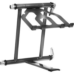 Crane Hardware Crane Stand Plus - Folding Laptop Stand (Graphite)