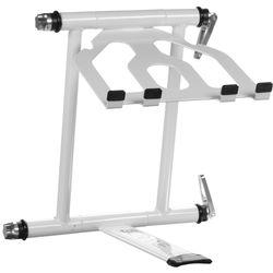 Crane Hardware Crane Stand Plus - Folding Laptop Stand (White)