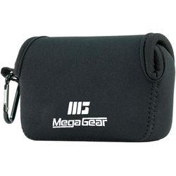 MegaGear Ultra-Light Neoprene Camera Case for Panasonic DMC-ZS100 (Black)