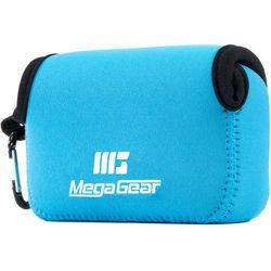 MegaGear Ultra-Light Neoprene Camera Case for Panasonic DMC-ZS100 (Blue)