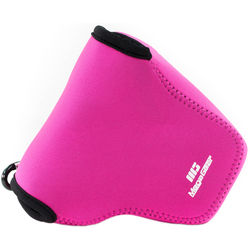 MegaGear Ultra-Light Neoprene Camera Case for Nikon COOLPIX B500 (Hot Pink)