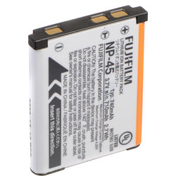 Fujifilm NP-45A Rechargeable Lithium-Ion Battery (700mAh)