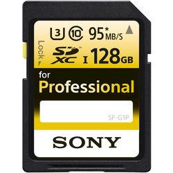 Sony 128GB Ultra-High Durability Professional SDXC UHS-I Memory Card (Class 10)