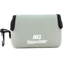 MegaGear Ultra-light Neoprene Camera Case with Carabiner for Fujifilm X70 Camera (Gray)