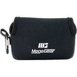 MegaGear Ultra-light Neoprene Camera Case with Carabiner for Fujifilm X70 Camera (Black)