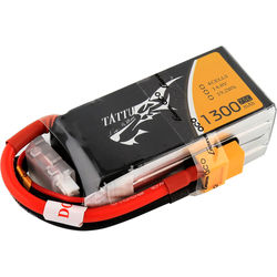 Tattu 75C LiPo Battery Pack (1300mAh, 14.8V, 4S1P)