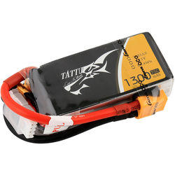 Tattu 75C LiPo Battery Pack (1300mAh, 11.1V, 3S1P)