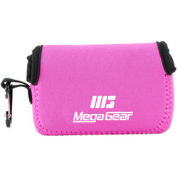 MegaGear Ultra-Light Neoprene Camera Case for Canon SX720 HS, Canon PowerShot SX610 HS, and SX600 HS (Hot Pink)