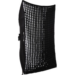 "Interfit Heat-Resistant Rectangular Softbox with Grid (48 x 72"")"