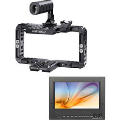 "FeelWorld 7"" ST702 3G-SDI & HDMI Field Monitor Kit with Universal Frame"