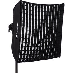"""Interfit Heat-Resistant Square Softbox with Grid (36 x 36"""")"""