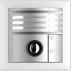 MOBOTIX T25 6MP Day Outdoor Door Station Camera (Silver)