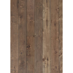 Westcott X-Drop Vinyl Backdrop (5 x 7', Light Mocha Wood Plank)