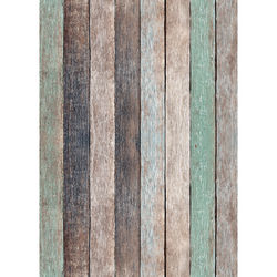 Westcott X-Drop Vinyl Backdrop (5 x 7', Nutmeg Pastels Rustic Wood)